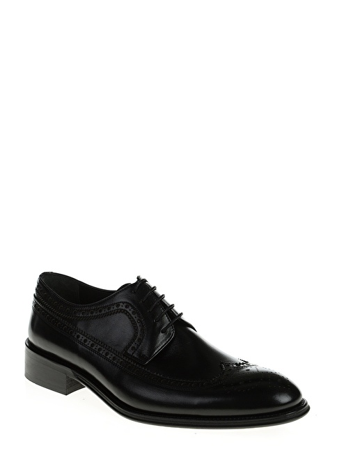 Divarese %100 Deri Oxford Ayakkabı Siyah
